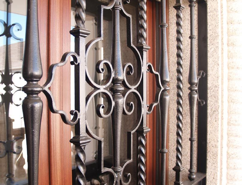 Rejas de seguridad en hierro forjado Vicente Gragera